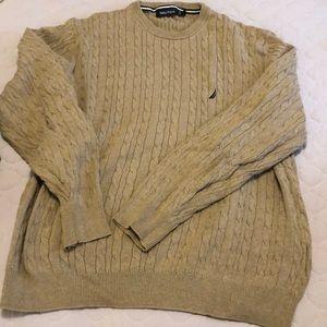 BOGO ☺️ Nautica tan sweater